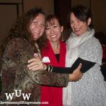 November 11, 2011 Women Uplifting Women Luncheon:  Mary Jean Marquez, Dora Fulkerson, and Wanda-Winters Gutierrez