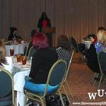 November 11, 2011 Women Uplifting Women Luncheon:  Our Key Note Speaker Tish Times.