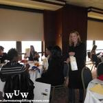 December 9, 2011 Women Uplifting Women Luncheon Laura Strathman and the Women Uplifting Women having a fabulous time!